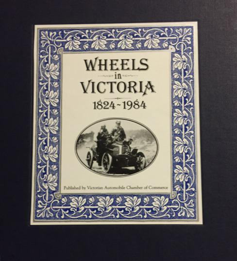Wheels of Victoria - a collectors item for car enthusiasts